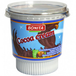 Šokol.kremas Bonita  400g pet.