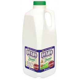 DVARO pienas 2l, 2.5% riebumo