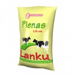 """Pienas """"Lankų"""" 900ml, 2.5%..."""