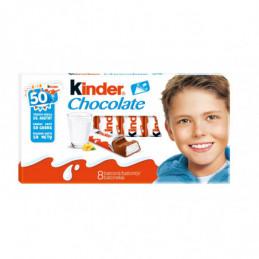 Šokoladas KINDER 8vnt, 100g