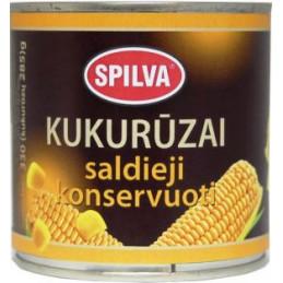 Konservuoti kukurūzai...