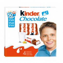 Šokoladas KINDER x 4