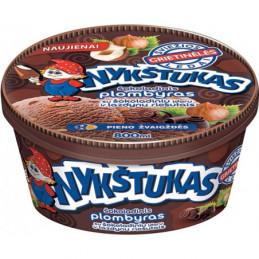 Ledai Nykštukas šokoladinis...