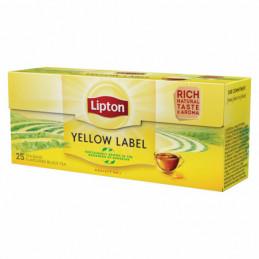 Juod.arb. LIPTON  Yellow...