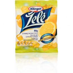 Želė skaidri citrinų skonio...