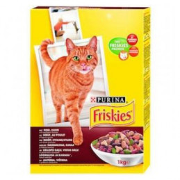 Katėm Friskies...
