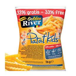Bulvytės fri  Golden River...