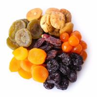 Džiovinti vaisiai, uogos, daržovės