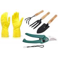 Darbo pirštinės, įrankiai